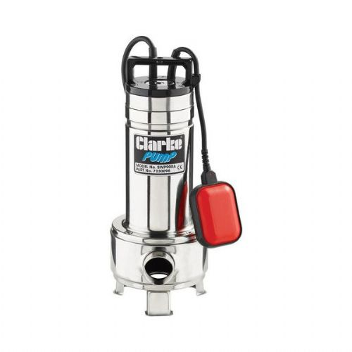 Clarke SWP900A Heavy Duty Submersible Sewage Pump 350 Litres/Min 240V~50Hz